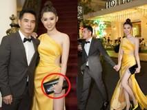 Lên sân khấu chụp ảnh lưu niệm, Thuý Ngân bị lấy cắp túi hiệu khi tham dự lễ trao giải