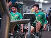 Tuyển Việt Nam hăng say tập gym trước trận gặp Yemen