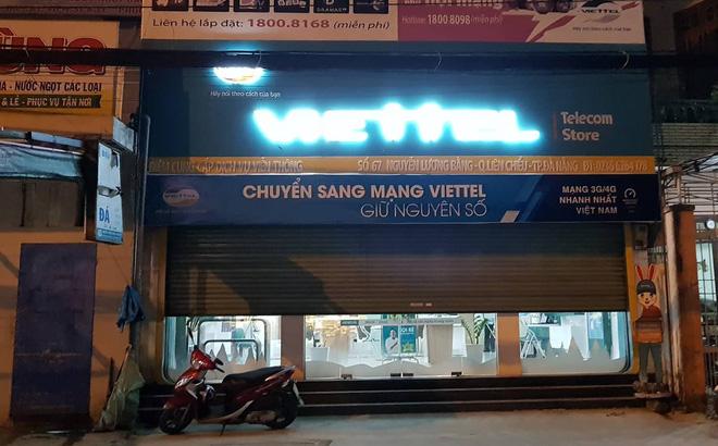 Tên cướp mang súng, lựu đạn tấn công cửa hàng Viettel ở Đà Nẵng-1