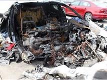Tesla bị kiện đòi bồi thường vì xe bốc cháy