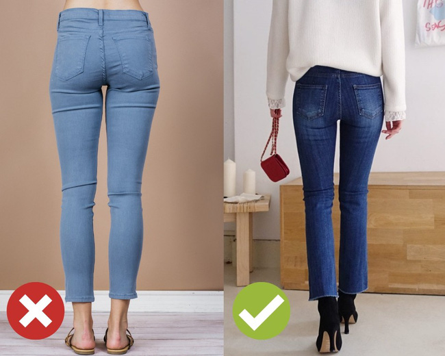 3 lỗi diện quần jeans không khiến cặp chân ngắn hơn thì cũng dễ đưa bạn vào tình huống kém duyên, nhạy cảm-3