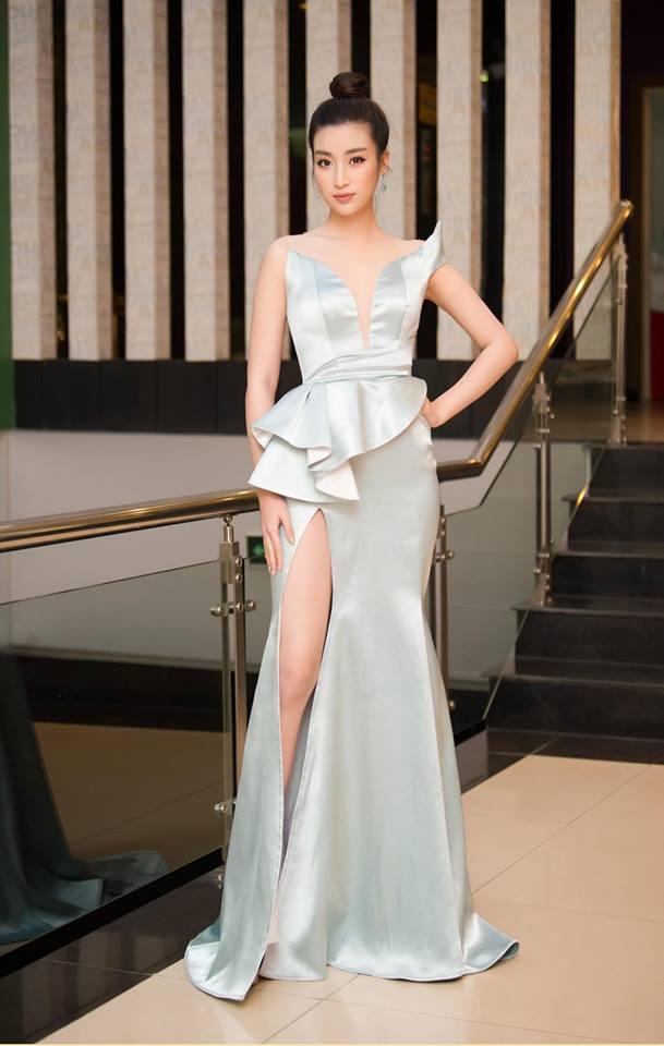 Hoa hậu Đỗ Mỹ Linh mê hoặc với tóc búi cao đầy thần thái-10