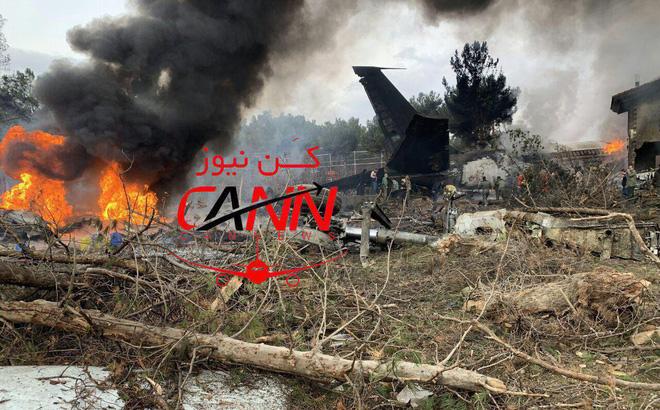 Trượt khỏi đường băng, Boeing-707 của quân đội Iran bốc cháy, chỉ 1 người sống sót-1