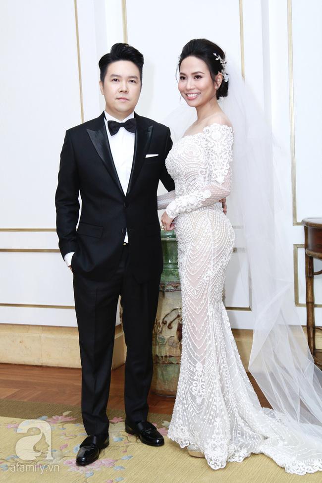 Cận cạnh vợ trẻ 9x da nâu miệng rộng của Lê Hiếu trong đám cưới hạng sang hạn chế khách mời-6
