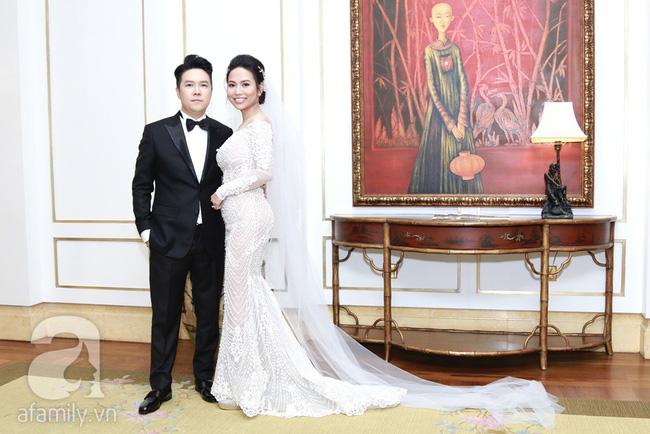 Cận cạnh vợ trẻ 9x da nâu miệng rộng của Lê Hiếu trong đám cưới hạng sang hạn chế khách mời-2
