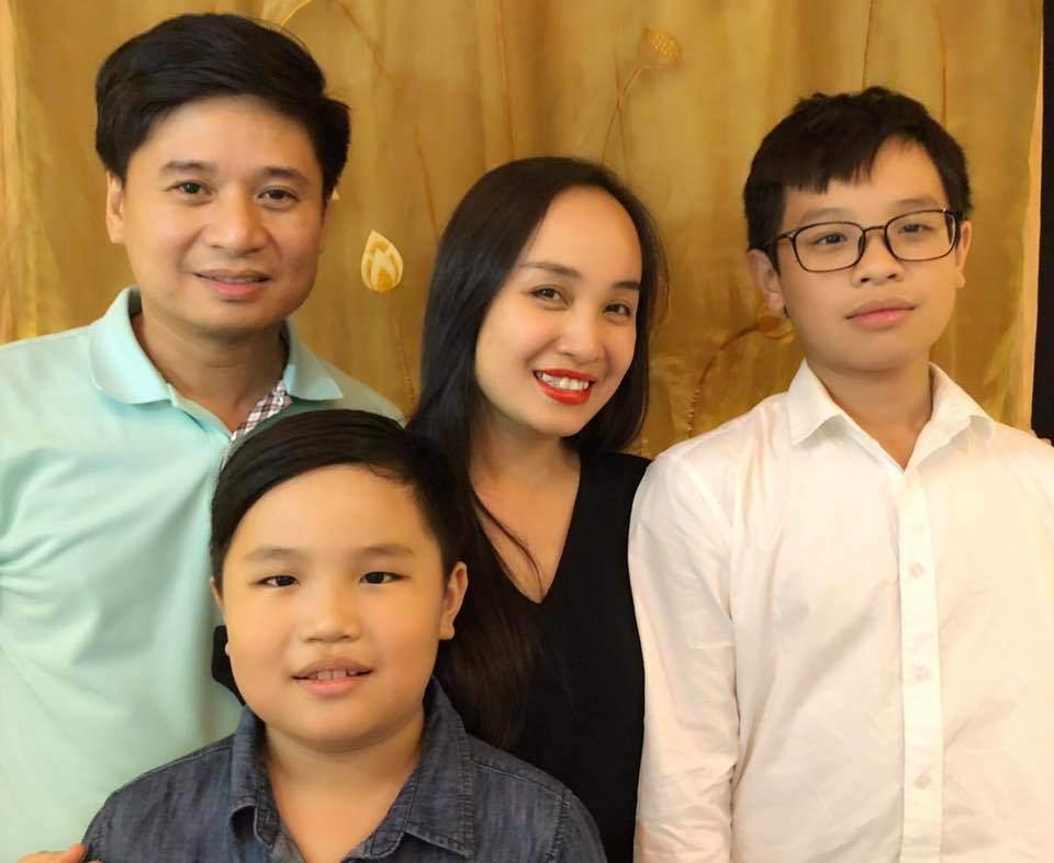 30 tuổi mới kết hôn, chẳng ai ngờ con trai Thị Mầu Thu Huyền giờ lớn bổng không nhận ra-10