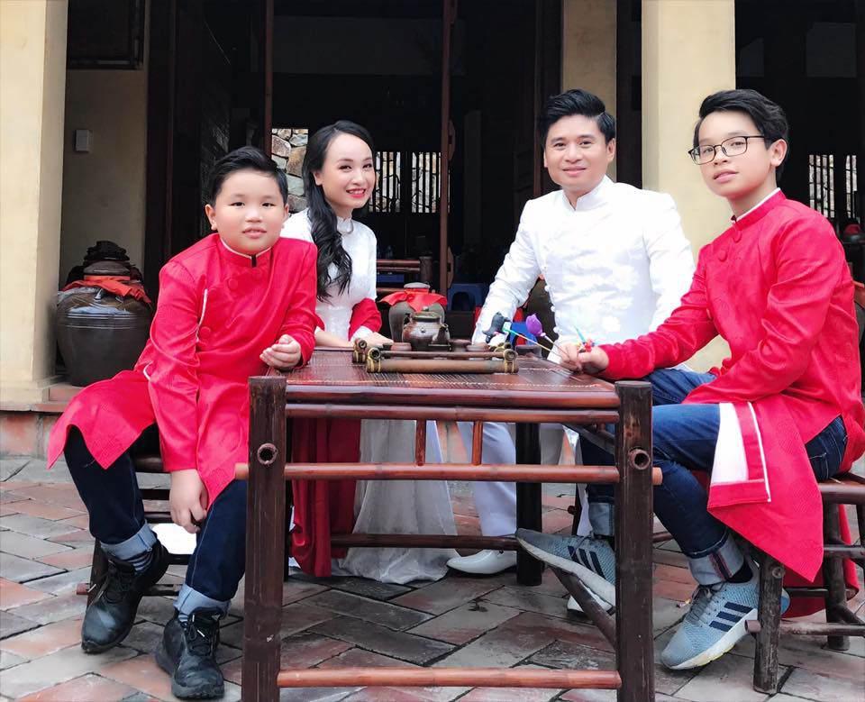 30 tuổi mới kết hôn, chẳng ai ngờ con trai Thị Mầu Thu Huyền giờ lớn bổng không nhận ra-4