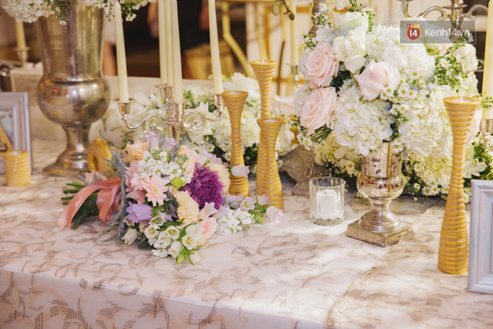 Dù rất hồi hộp, Lê Hiếu vẫn kịp nhắn đến bà xã lời hứa ngọt ngào trong đám cưới-10