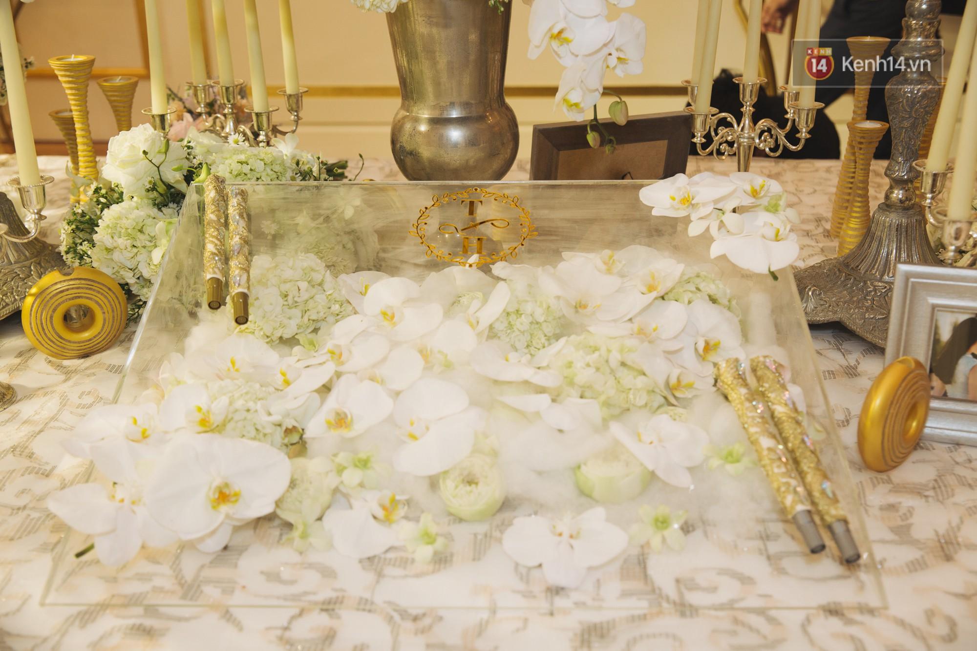 Dù rất hồi hộp, Lê Hiếu vẫn kịp nhắn đến bà xã lời hứa ngọt ngào trong đám cưới-12
