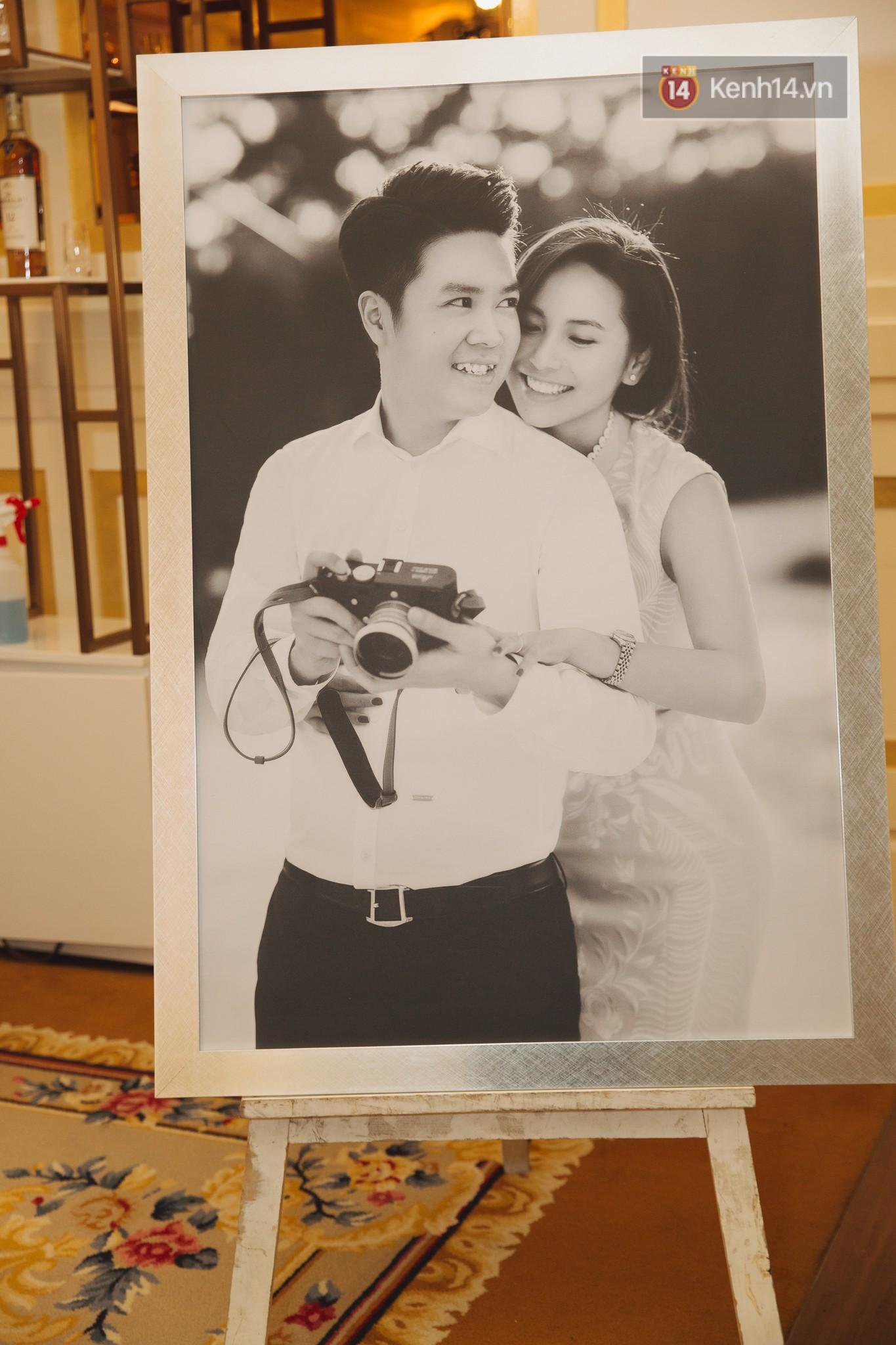 Dù rất hồi hộp, Lê Hiếu vẫn kịp nhắn đến bà xã lời hứa ngọt ngào trong đám cưới-13