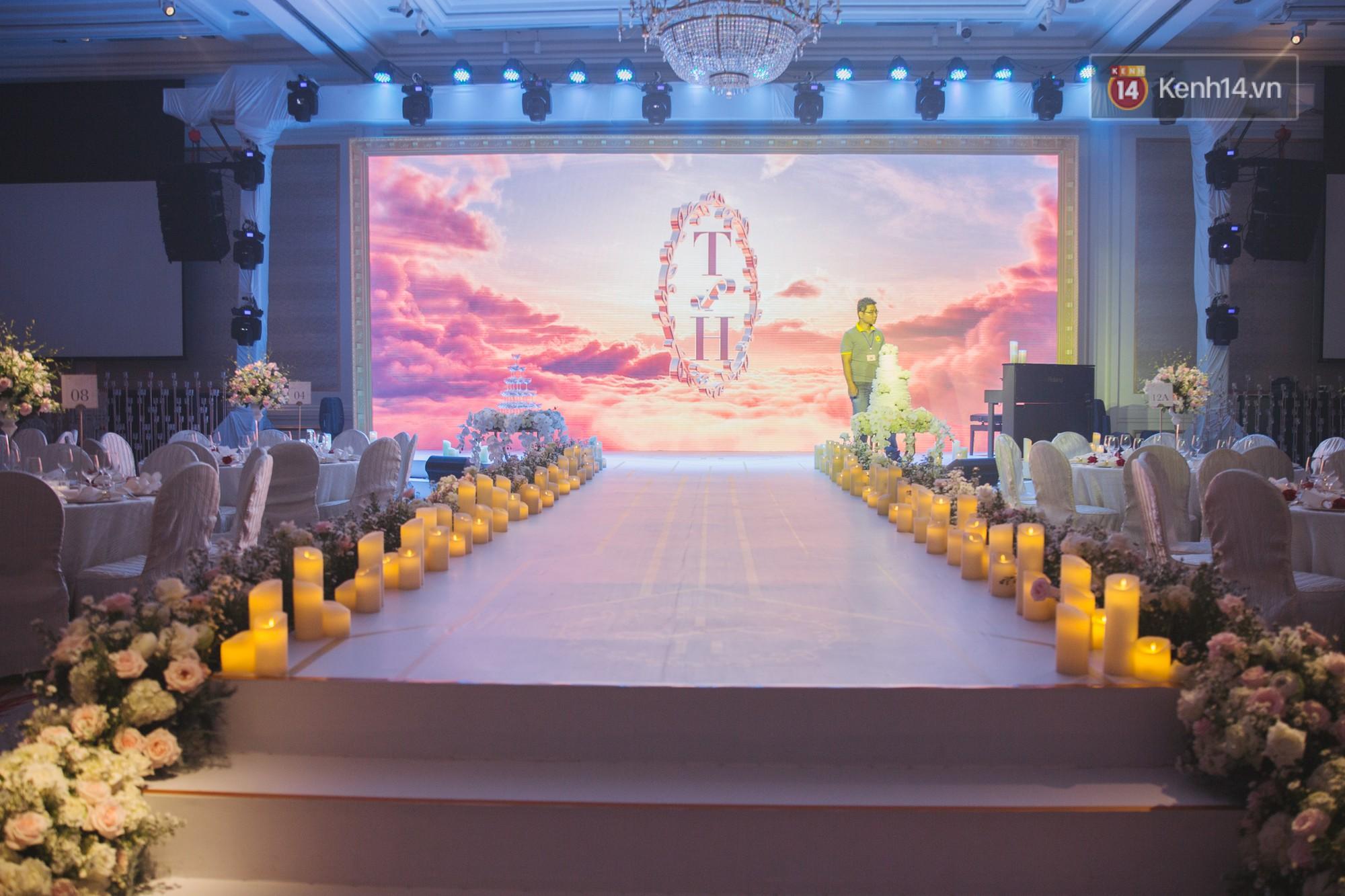 Dù rất hồi hộp, Lê Hiếu vẫn kịp nhắn đến bà xã lời hứa ngọt ngào trong đám cưới-16