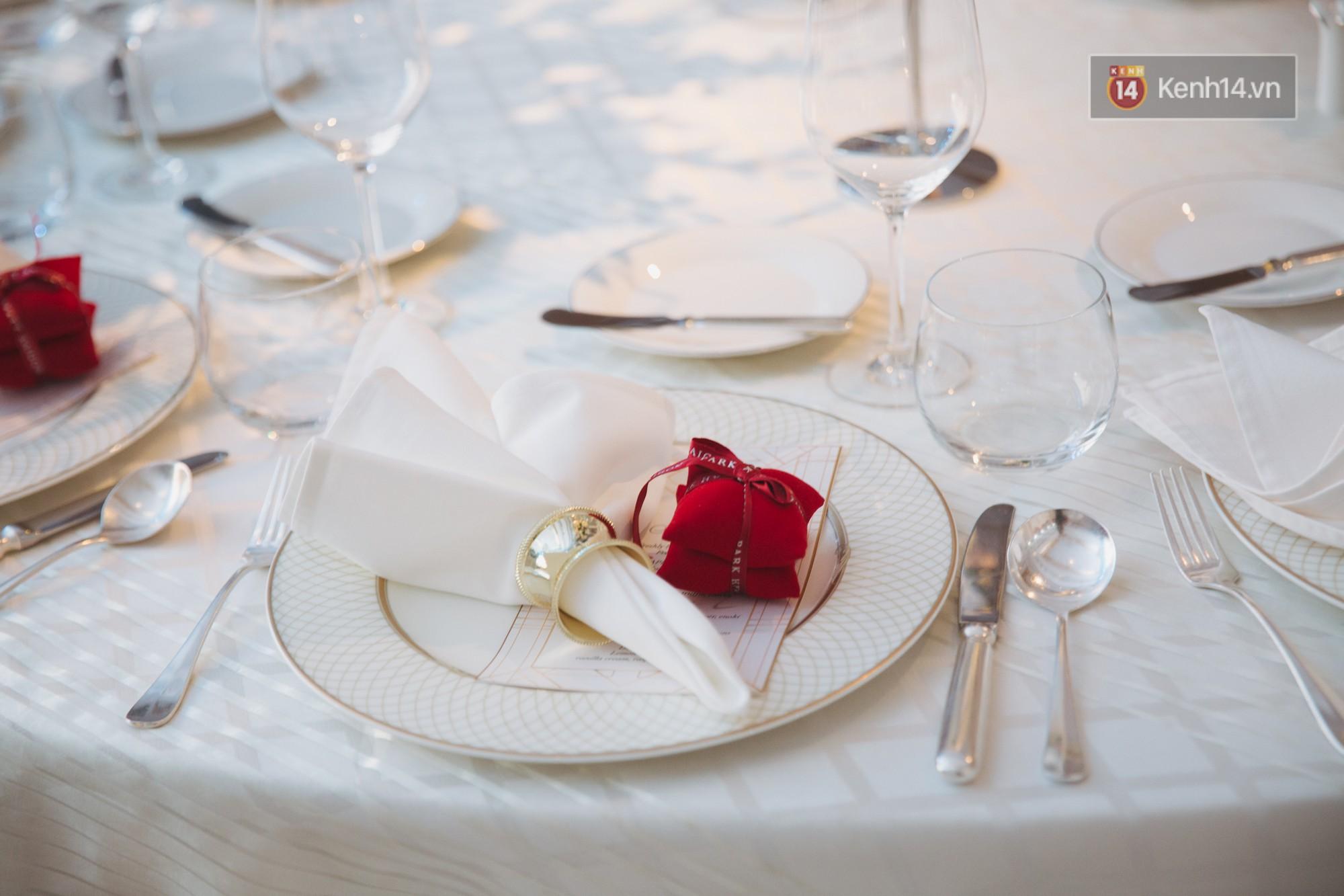 Dù rất hồi hộp, Lê Hiếu vẫn kịp nhắn đến bà xã lời hứa ngọt ngào trong đám cưới-18