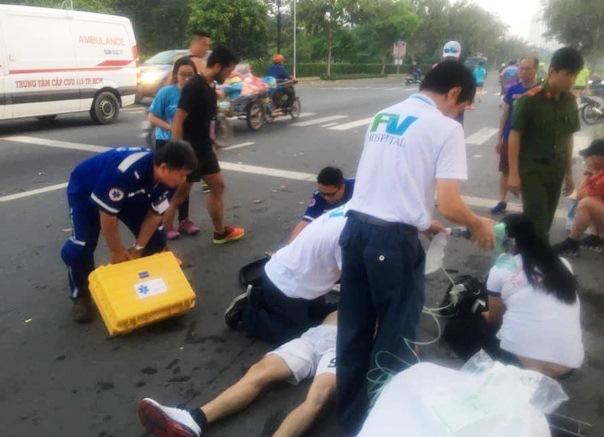 Vận động viên 23 tuổi tử vong ngay trên đường chạy HCMC Marathon 2019-1