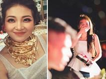 Màn cầu hôn siêu lãng mạn của cô dâu 'đeo vàng trĩu cổ' ở Nam Định với chú rể khiến dân tình ghen tị