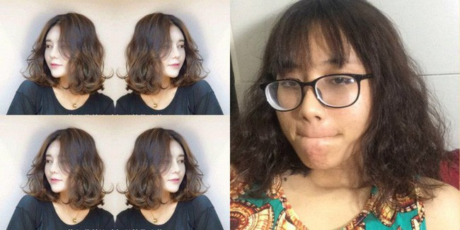 Đầu tư cắt tóc đẹp diện Tết, cẩn thận mang theo ảnh mẫu, cô nàng vẫn nhận cái kết đớn đau-3