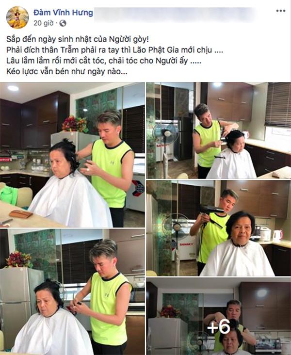 Hành động đặc biệt của Đàm Vĩnh Hưng trước ngày sinh nhật mẹ-1