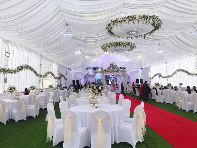 Nhan sắc lộng lẫy, gia thế đáng gờm của cô dâu sống trong lâu đài, đám cưới ngập vàng ở Nam Định-3