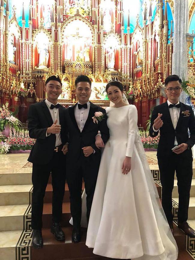 Nhan sắc lộng lẫy, gia thế đáng gờm của cô dâu sống trong lâu đài, đám cưới ngập vàng ở Nam Định-5