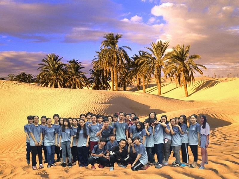 Phát sốt với trào lưu đưa lớp học đi muôn nơi của teen Việt-6