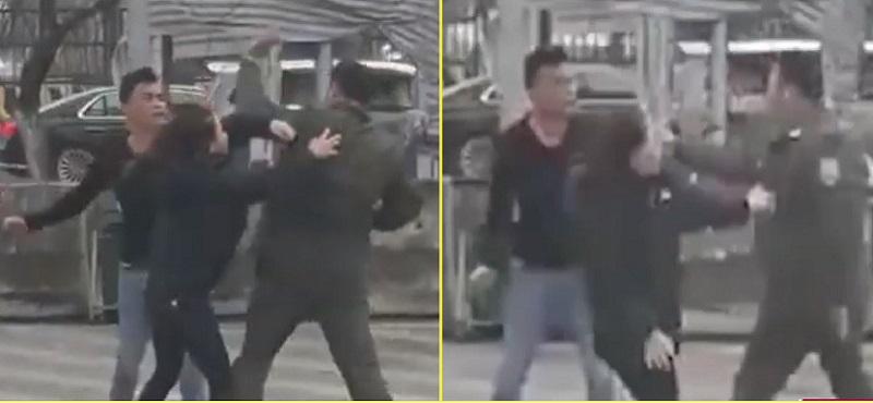 Chân dung cò taxi đánh gãy 4 răng nhân viên an ninh sân bay Nội Bài-1