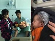 Bé gái 7 ngày tuổi phải quấn nilon chống rét, ở viện cùng mẹ chăm bố mắc bạo bệnh