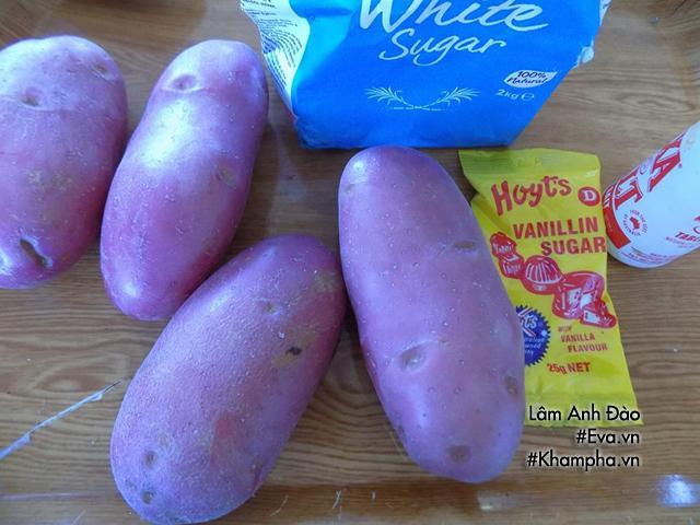 Cách làm mứt khoai tây sợi tuyệt ngon chẳng cần nước vôi trong-1