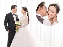 Hé lộ ảnh cưới của NSND Trung Hiếu và vợ kém 19 tuổi xinh như hotgirl