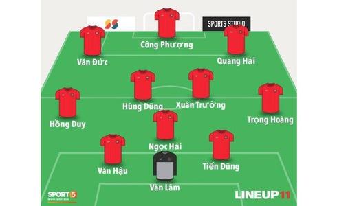 Việt Nam vs Yemen: Công Phượng, Xuân Trường đá chính, Văn Hậu chơi trung vệ-10