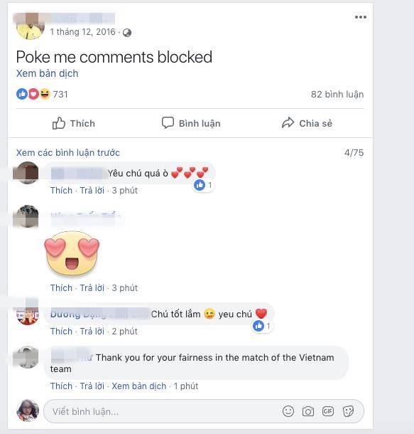 Sung sướng với quyết định của trọng tài, dân mạng Việt Nam làm điều lạ kỳ trên facebook ông-7
