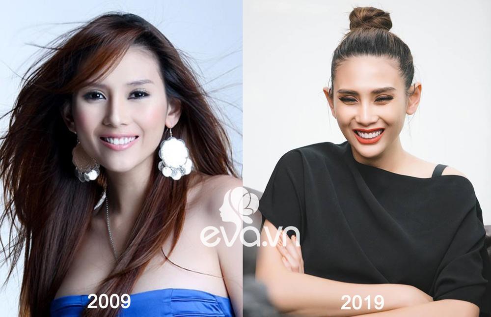 Trào lưu khoe ảnh 2009 - 2019: Mai Phương Thuý đẹp bền bỉ, còn mỹ nhân đổi khác nhất là...-8