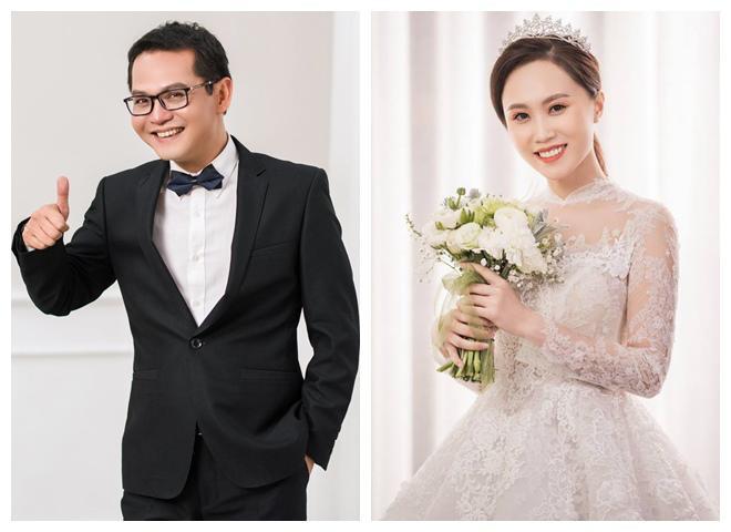 NSND Trung Hiếu khoe ảnh cưới trẻ trung dù đã U50 cùng vợ kém gần 20 tuổi-2