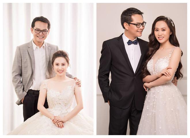 NSND Trung Hiếu khoe ảnh cưới trẻ trung dù đã U50 cùng vợ kém gần 20 tuổi-7