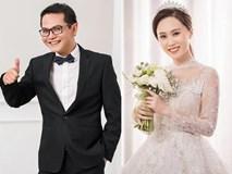 NSND Trung Hiếu khoe ảnh cưới trẻ trung dù đã U50 cùng vợ kém gần 20 tuổi