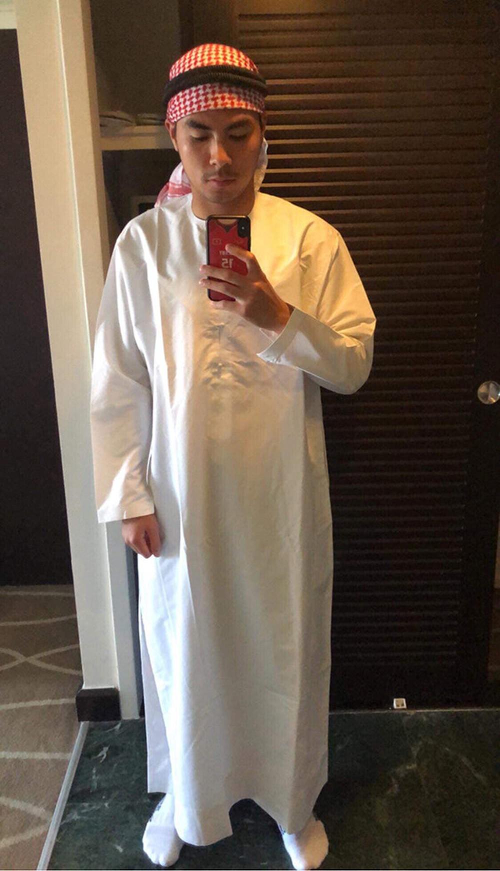 Đức Huy hóa trang thành Hoàng tử Ả-rập dọn phòng cho Xuân Trường-1
