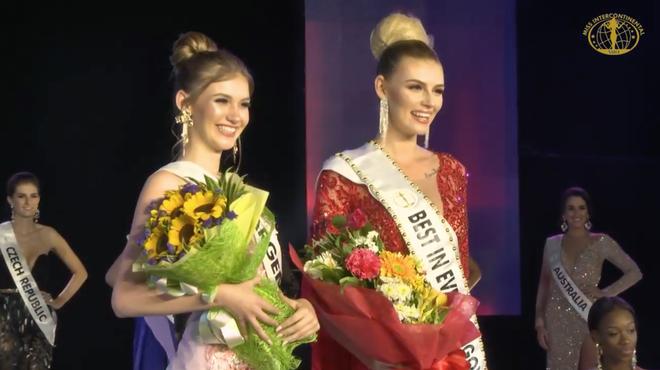 Đi loạng choạng, biểu cảm khó hiểu, Ngân Anh tiếp tục trắng tay tại Miss Intercontinental 2018-1