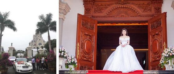 Đám cưới tại lâu đài trăm tỷ, rước dâu bằng Rolls-Royce và máy bay: Nam Định xứng đáng đứng đầu về độ chịu chơi tổ chức đám cưới-3