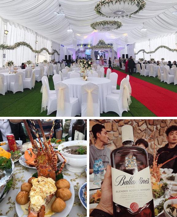 Đám cưới tại lâu đài trăm tỷ, rước dâu bằng Rolls-Royce và máy bay: Nam Định xứng đáng đứng đầu về độ chịu chơi tổ chức đám cưới-4