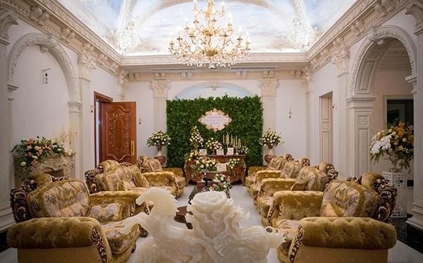 Đám cưới tại lâu đài trăm tỷ, rước dâu bằng Rolls-Royce và máy bay: Nam Định xứng đáng đứng đầu về độ chịu chơi tổ chức đám cưới-25