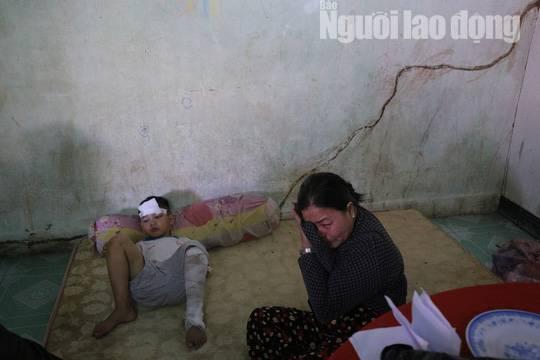 Cha mẹ chết dưới bánh xe container, con cái ra rừng, ra rẫy ngủ-6