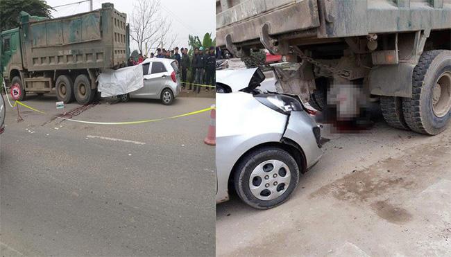 Đang sửa xe cho khách, thợ bị ô tô tông chết ở Hà Nội-1