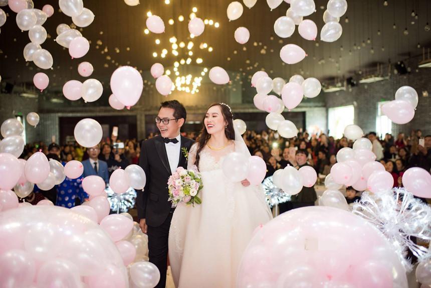 Lễ cưới lãng mạn của NSND Trung Hiếu và cô dâu 9X ở Sơn La-9