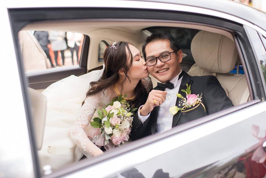 Lễ cưới lãng mạn của NSND Trung Hiếu và cô dâu 9X ở Sơn La-6