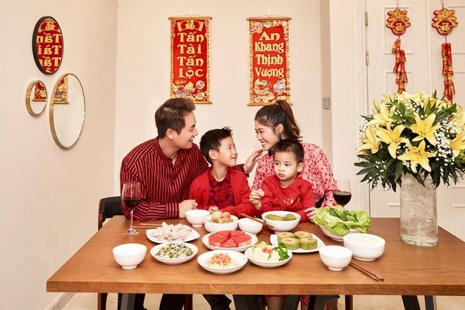Bộ ảnh đón Tết của gia đình Đăng Khôi: Nhìn thôi cũng đã thấy ấm áp rồi!-2
