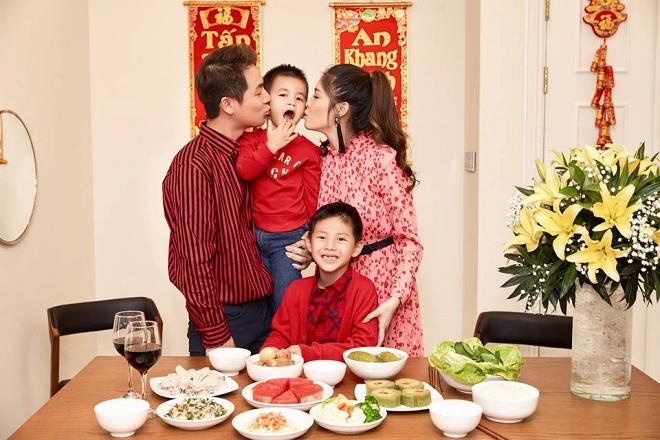 Bộ ảnh đón Tết của gia đình Đăng Khôi: Nhìn thôi cũng đã thấy ấm áp rồi!-3