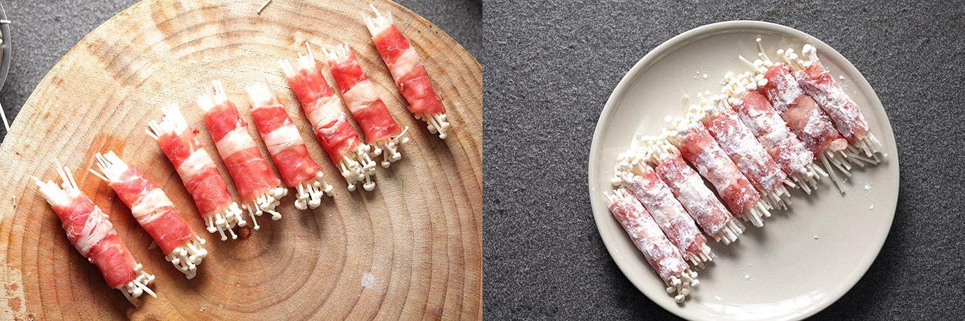 Thử ngay món bò cuộn nấm mới toanh cho bữa tiệc cuối năm thêm viên mãn-2