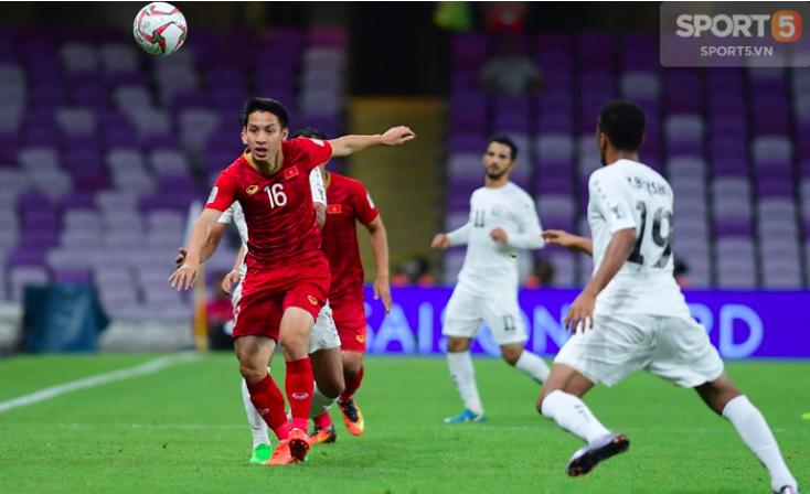 5 cầu thủ Việt Nam chuyền bóng nhiều nhất ở vòng bảng Asian Cup 2019-4