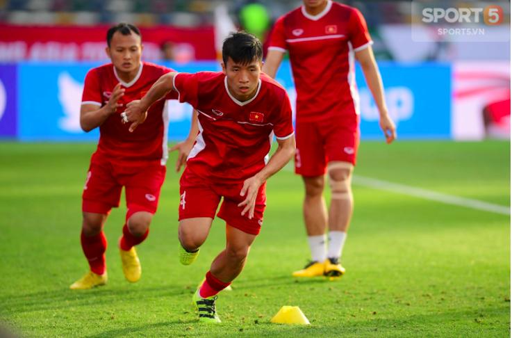 5 cầu thủ Việt Nam chuyền bóng nhiều nhất ở vòng bảng Asian Cup 2019-2