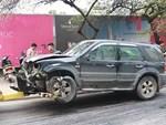 Ô tô đâm 5 xe trên phố Ngọc Khánh: Thai phụ nhảy bật trong tích tắc-14