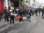 Nhân chứng vụ tông xe liên hoàn trên phố Ngọc Khánh: Tài xế bước ra khóc rưng rức-5