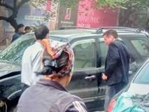 Nhân chứng vụ tông xe liên hoàn trên phố Ngọc Khánh:
